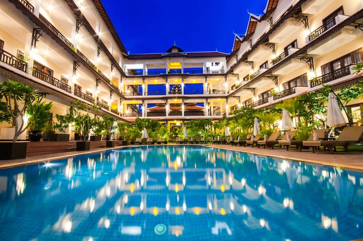 Deluxe Pool View/Free Breakfast&pick up&Wifi - Krong Siem Reap - Hotel boutique
