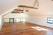 Upstairs studio of the green barn, Bring your YOGA MATS!
