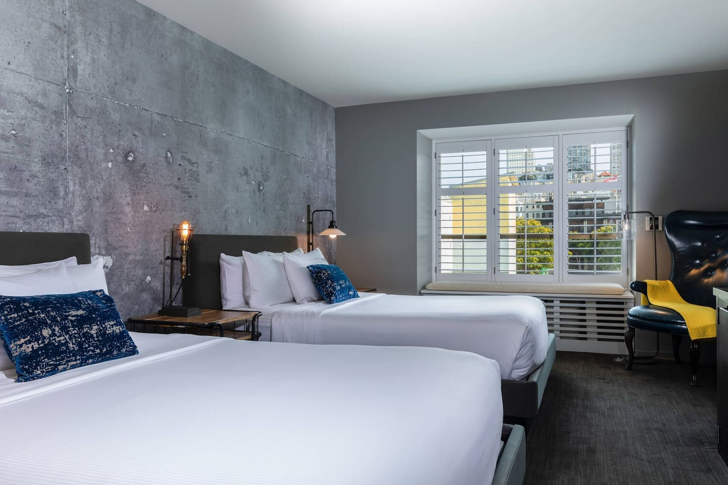 Double Queen Room with city views