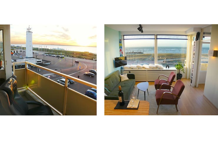 Seaview Apartment (Beachfront) - Noordwijk - アパート