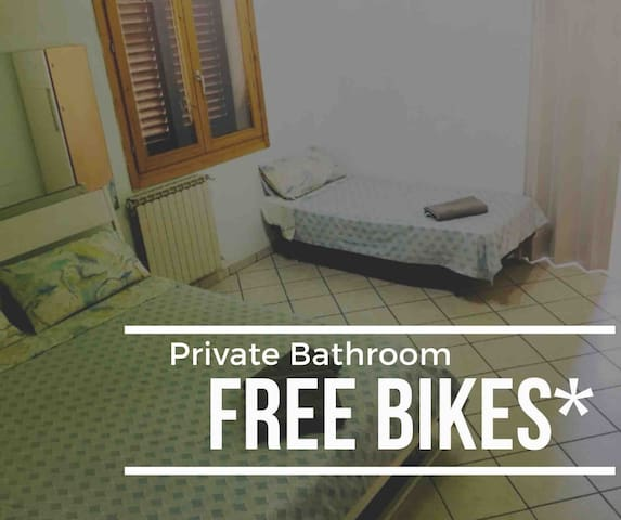 room3 (5km to city center by bikes)