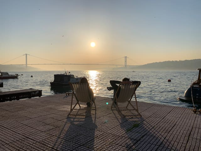 Water front property directly located on Bosphorus