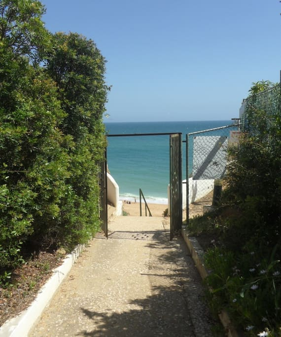 Access to beach