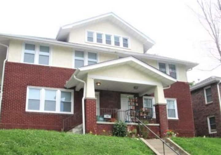 Med-Center Brick Renovated Townhome close to Blackstone, Dundee, Midtown Crossing