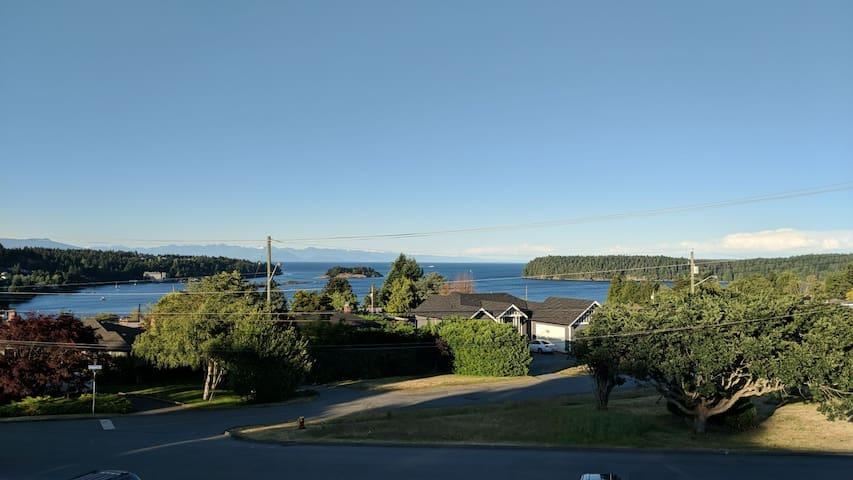 Peek-a-Boo Ocean View Basement Suite - Dep. Bay