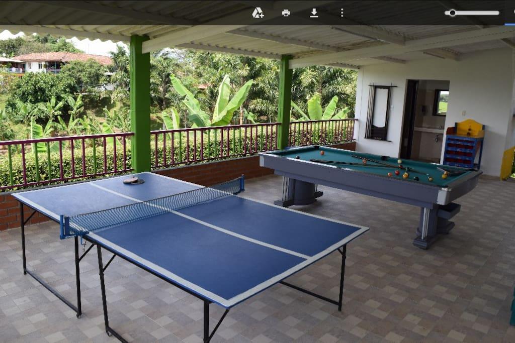 Mesa de Billar pool y Ping Pong