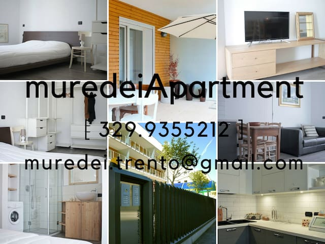 A 4 min. dal MUSE MuredeiApartment Trento!