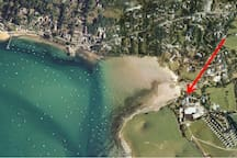 5* Reviews | Luxury Beach Cottage | Rock
