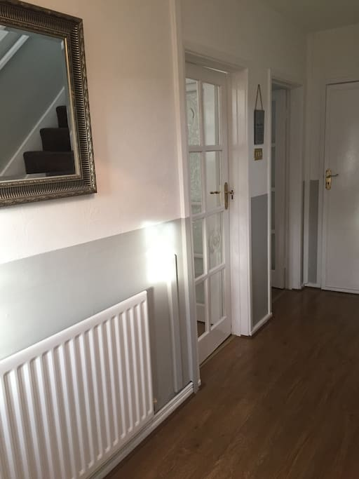 Bright airy hallway