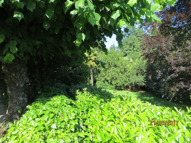 Villa nel verde tra laghi divertimenti e cittá