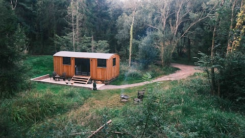 Woodpecker cabin secluded  in lovely Dorset forest