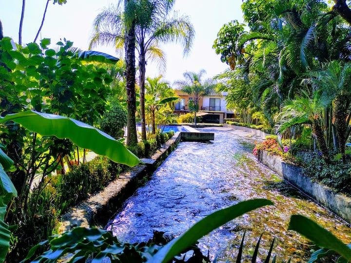 Hacienda de Cortes Exuberante Naturaleza!
