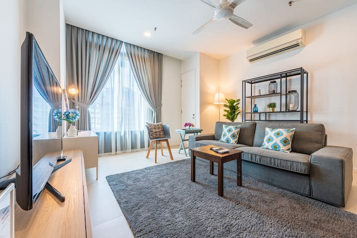 1-4pax Arcoris /5mins To 163 Retail/One Mont Kiara