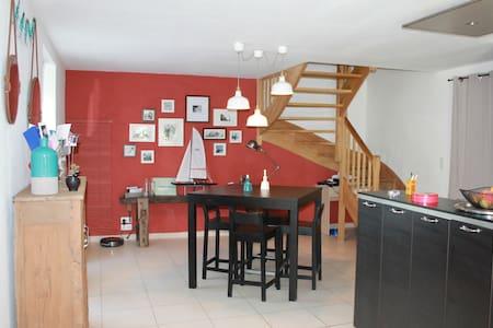 Charmante maison dans le bourg de Clohars Carnoët - Clohars-Carnoët - Huis