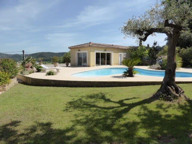 Pool house avec piscine et jardin aquatique - Gaujac - Dům