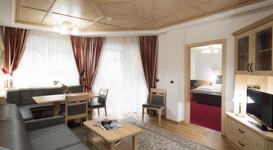 Superior three - rooms apartment with balcony