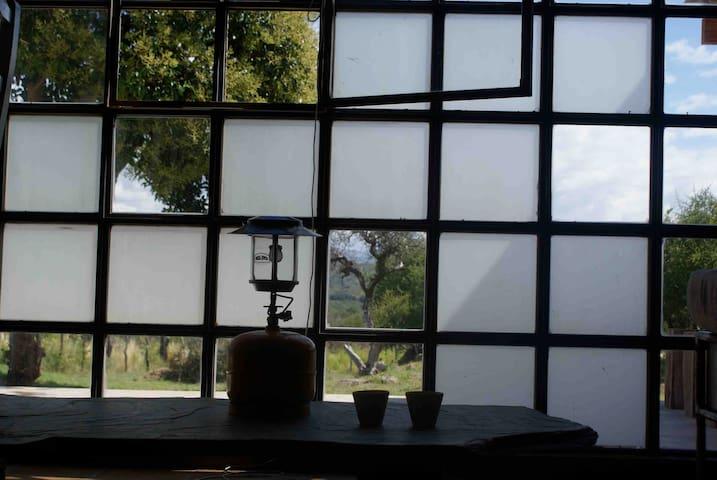 San Luis, casita en el campo - vista al lago