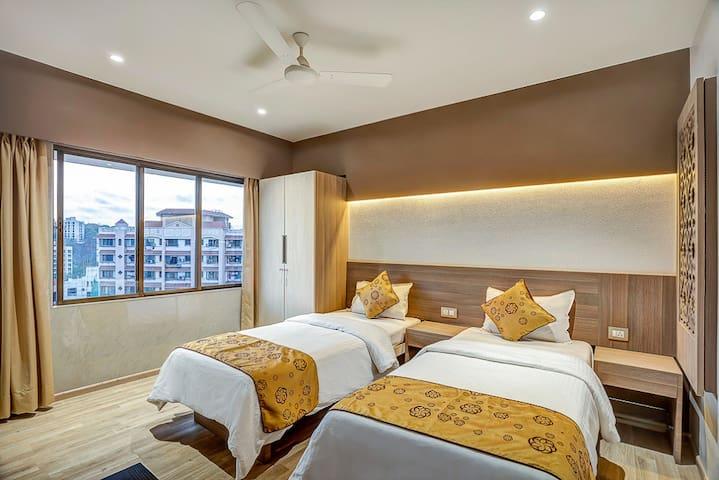Fully Serviced 2 BR of * 1 in Andheri East - Mumbai - Lägenhet