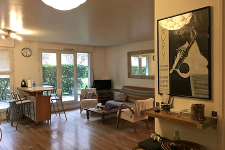 3 rooms-calm residence-5 min walk to the subway - Asnières-sur-Seine