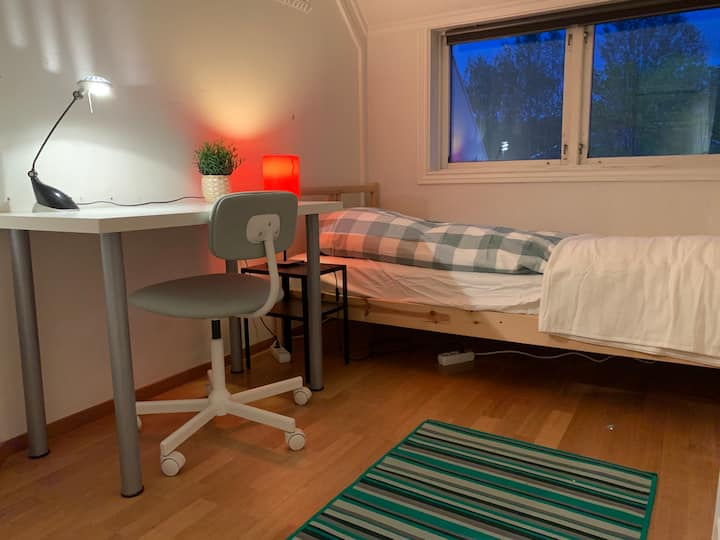 Cozy room in a very nice apartment in Trondheim
