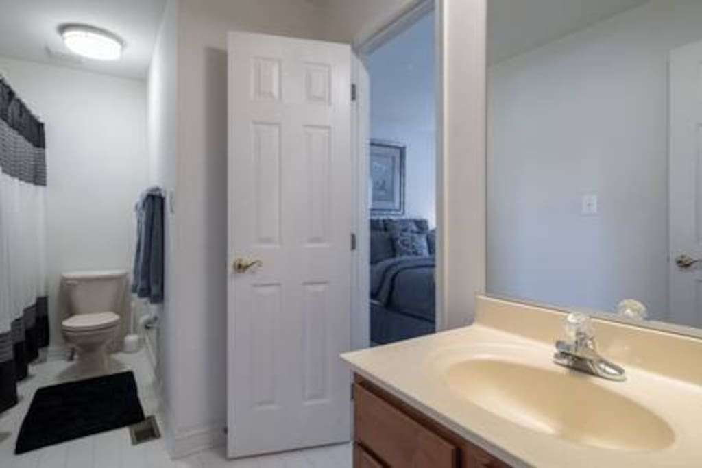 Go to your  private bathroom without ever leaving your room.