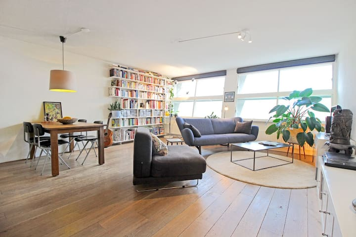 Spacious & bright apt. eastern docklands | 2P