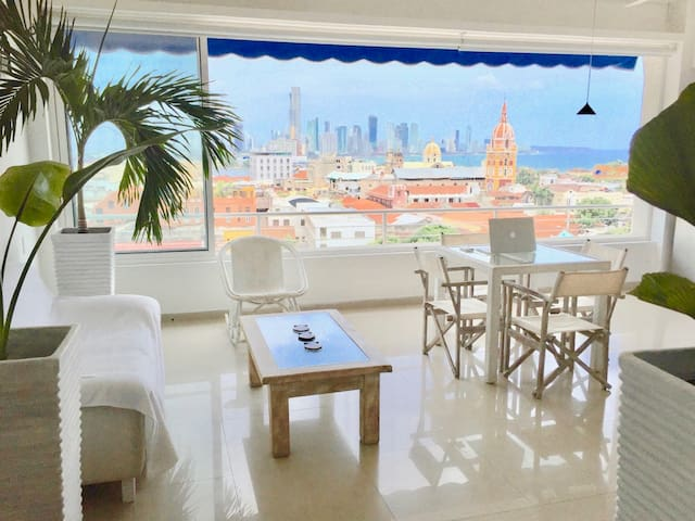 The highest panoramic view in the Old Town *promo* - Cartagena - Apartamento