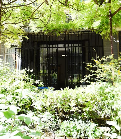 【一期一会】全手工打造和式简约美式一层小院民宿;市中心/碑林/钟楼南门/城墙根/ - Xi'an - Ryokan (Japão)