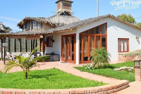 Bungalow en Orígenes en Vichayito - Vichayito - Cabana