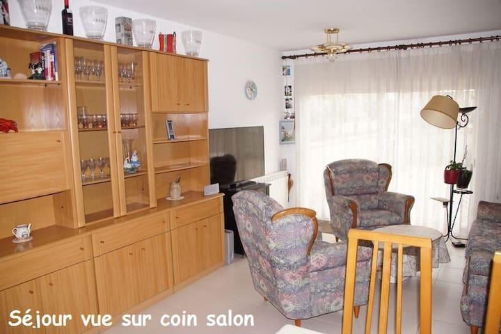 Loue T3 Costa Brava - Palafrugell - Apartemen