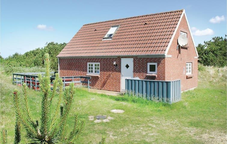 Holiday cottage with 2 bedrooms on 72m² in Nørre Nebel