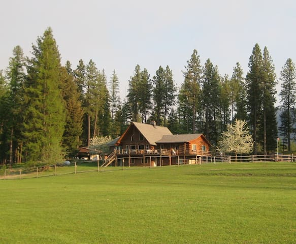 "Green Acres Ranch Located in ""Big Sky"" Country - Thompson Falls - Pis"