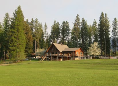 "Green Acres Ranch Located in ""Big Sky"" Country - Thompson Falls"