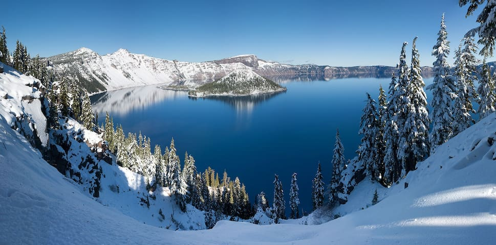 Crater Lake is the deepest lake in the United States, 2nd deepest in North America, and 9th deepest lake in the world.