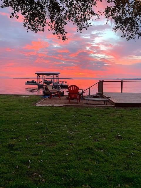 Waterfront Sunset Oasis