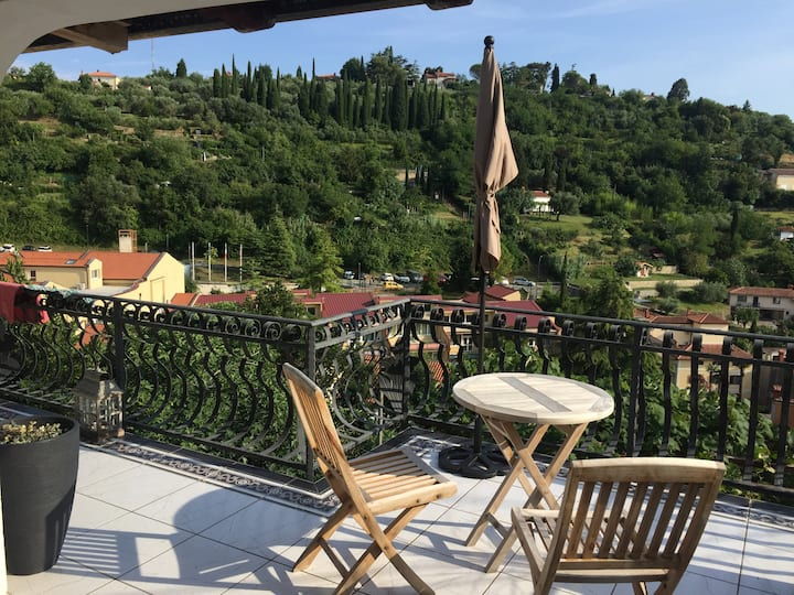 Oasis Piran - romantic flat with a big terrace