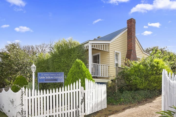 Little Yellow | Fire | Spa | Cute | Sleeps 2 - Daylesford - Dom