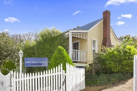 Little Yellow | Fire | Spa | Cute | Sleeps 2 - Daylesford - Haus
