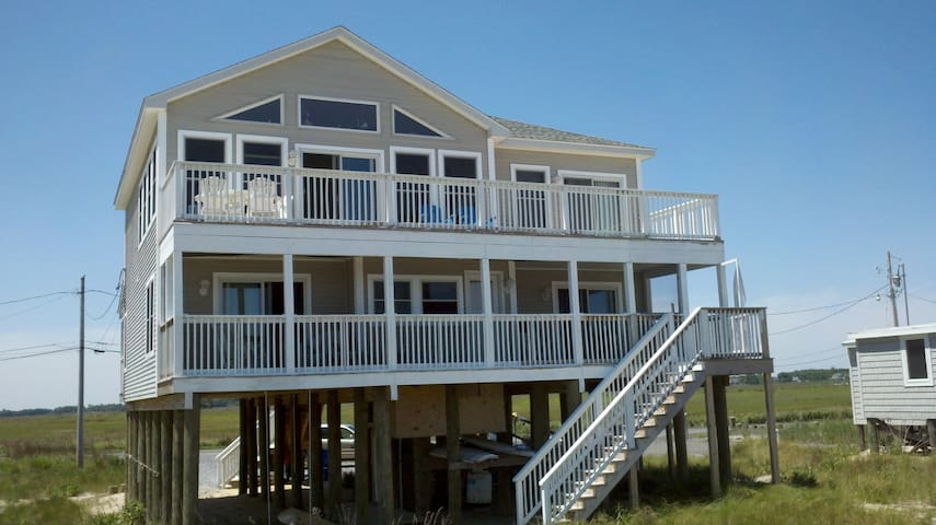 5BR Beachfront, Delaware Shore ! - South Bowers Beach - Dům