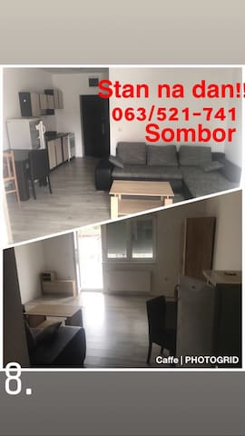 Sombor, srbija – Zgrada s većim brojem stanova