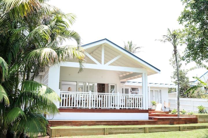 Iconic beachside bungalow