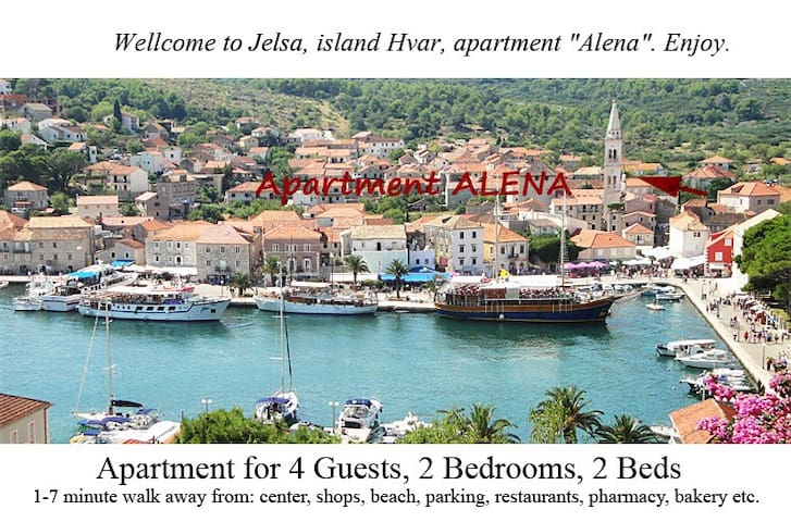 "Wellcome! Apartment ""Alena"" just for you. Enjoy. - Jelsa - Haus"