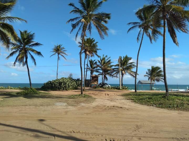 Village 1/4 duplex em Stella Maris  frente à praia