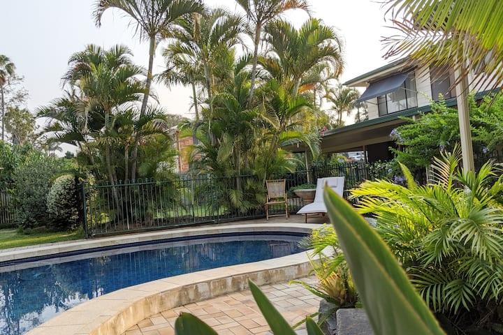 Manly Garden Home at Moreton Bay