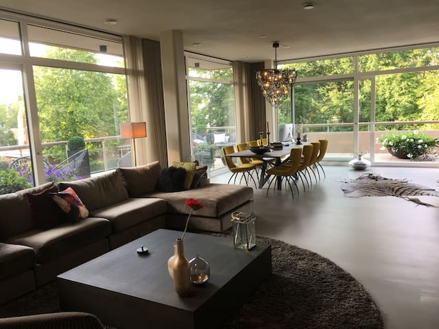 A luxury, brand new appartment nearby Haarlem