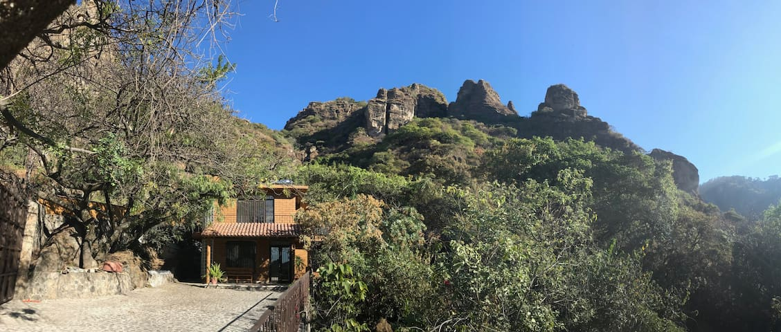Espectacular Casa del Amate en Amatlan