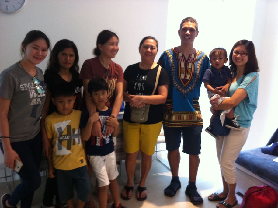 1st Group of Guests: with Jen Acosta and Family / April 07-09, 2018