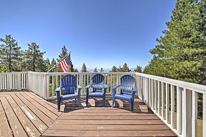 NEW! 3BR Running Springs Cabin - Deck & Mtn. Views