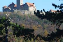 IhreZiele in Thüringen: Die Wachsenburg, eine  der Drei Gleichen