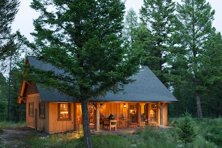 Quintessential Whitefish MT Cabin-New Listing!
